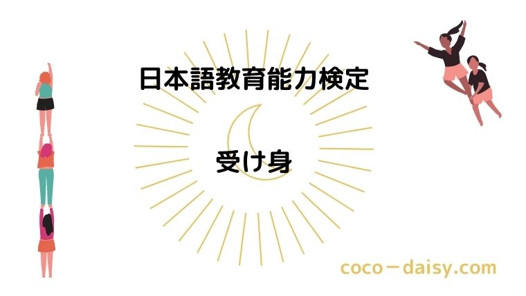 【日本語教育能力検定】受身文
